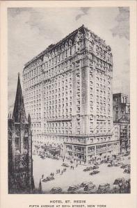 New York City Hotel St Regis Albertype