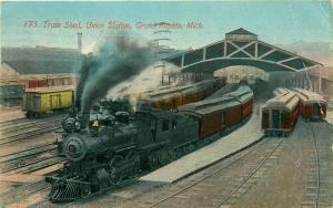Railroad, MI, Grand Rapids, Michigan, Union Station, Train Shed, No. 175