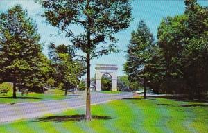 West Virginia Huntington War Memorial Arch Memorial Park
