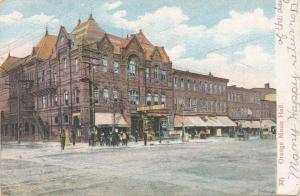 Orange Music Hall - Orange NJ, New Jersey - pm 1908 - UDB