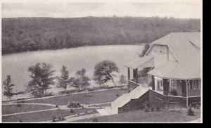 New York  White Roe Lake Social Hall   Albertype