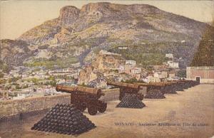 Monaco Ancienne Artillerie et Tete de Chien