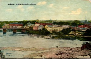 Maine Auburn View From Lewiston