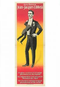 Jean Libbera & Vestigial Twin Circus Sideshow Freak Modern Postcard