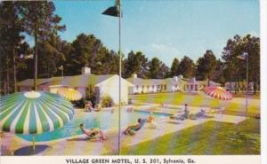 Georgia Sylvania Village Green Motel