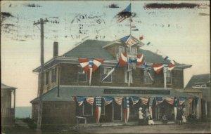 Brant Rock MA Briggs Maxwell Store c1910 Postcard