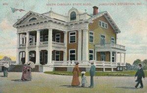 JAMESTOWN , Virginia , 1907 ; Exposition ; South Carolina Building