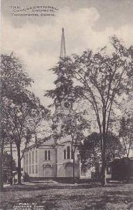 Connecticut Thompson The Congregational Church Albertype
