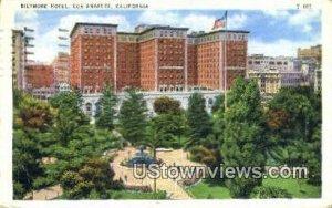 Biltmore Hotel - Los Angeles, CA