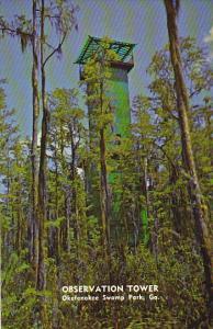 Georgia Observation Tower Okefenokee Swamp Park