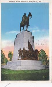 Pennsylvania Gettysburg Virginia State Memorial 1935