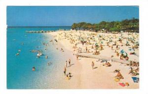 World famous, Doctor's Cave Beach, Montego Bay, Jamaica,W.I,   40-60s