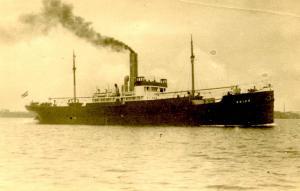 Orient Line - RMS Orion - RPPC