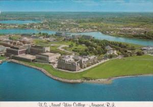 Rhode Island Newport Aerial View U S Naval War College Coasters Harbor Island