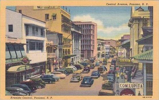 Panama Panama City Central Avenue