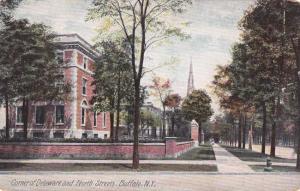 Corner Delaware and North Streets - Buffalo NY, New York - DB