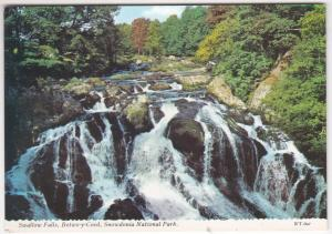 Postcard Wales Carnarvon Betws-y-Coed 4 views