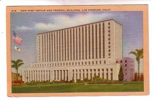 New Post Office, Los Angles, California, Longshaw Card Co