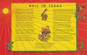Poem HELL in Texas , 30-40s ; Version-2