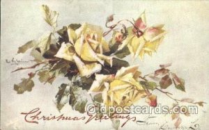 Series 8707 Artist Signed Catherine Klein 1906 close to perfect corners, ligh...