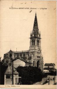 CPA St Cyr au Mont d'Or - L'Église (572407)