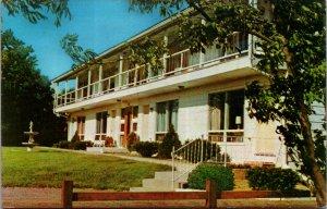 Doane's Motel Empire Blvd Webster NY Hotel  Vintage Postcard