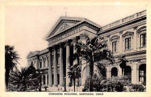 Congress Building Santiago Republic of Chile Unused