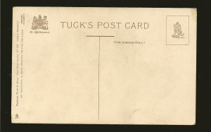 Vintage Tuck & Sons Love's Reveries No 123 Printed in Saxony Color Postcard