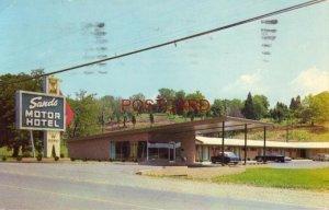 1964 SANDS MOTOR HOTEL U.S 31 PULASKI, TENN. Tillman & Garfield Carvell, Owners