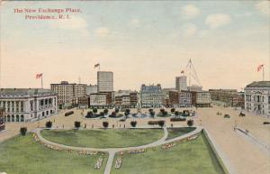 Rhode Island Providence The New Exchange Place 1915