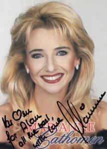 Marianne Cathomen Hand Signed Photo