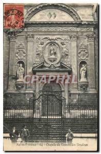 Old Postcard Aix en Provence Chapel of the Ursuline Convent