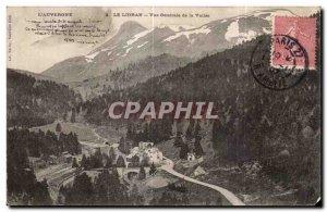 Old Postcard The Auvergne Lioran Vue Generale de la Vallee