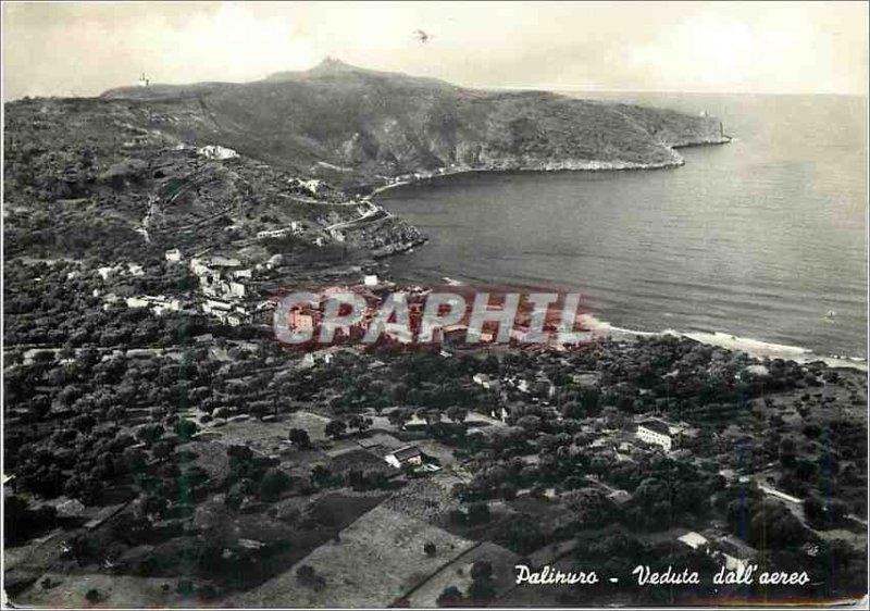 Postcard Modern Palinuro Veduta dall'aereo