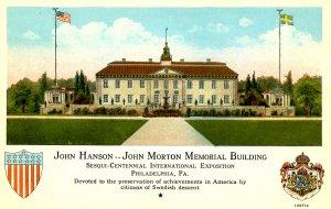 PA - Philadelphia. 1926 Sesqui-Centennial Int'l Expo. John Hanson-John Morton...