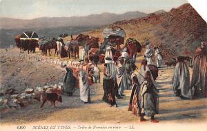 Egypt, Egypte, Africa Tribu de Nomades en route  Tribu de Nomades en route