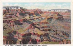 Fred Harvey Grand View Point Grand Canyon National Park Arizona