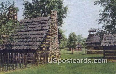 Schoenbrunn Memorial State Park, Ohio Postcard      ;      Schoenbrunn Memori...