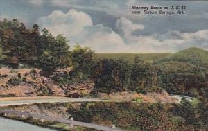 Arkansas Eureka Spring Highway Scene On U S 62