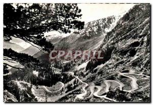 Old Postcard Vallee Aure along the Cape Road Laces Oredon