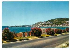 Ajaccio , France, 50-60s   Vue sur la ville d'Aspretto et route de l'aeropot