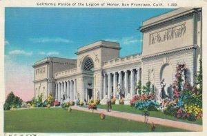 SAN FRANCISCO, California, 1910-20s; California Palace of the Legion of Honor