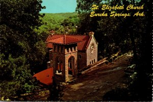 Arkansas Eureka Springs St Elizabeth Church