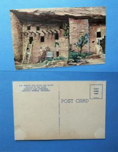 Manitou Cliff Dwellings Colorado Historic Spruce Tree House Ruins Postcard