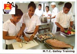 Kiribati Marine Training Centre  -  GALLEY TRAINING