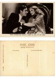 CPA Ramon Novarro and Dorothy Jordan in Call of the Flesh FILM STAR (398939)