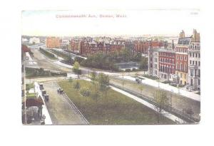 Commonwealth Avenue,  Boston Massachusetts, Reichner Bros, Made in Germany, W...