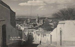 RP: La Calle Alta. , S. Mig. de Allende , Gro. , Mexico , 1950