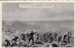 Last Stand Made By The Federals At Manassas  Bull Run Virginia Dexter Press