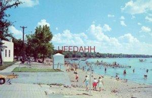 CITY BEACH, CLEAR LAKE, IA